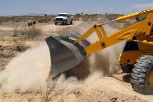 Dust Suppression During Civil Construction